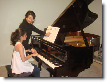 Lessons for all age piano students.